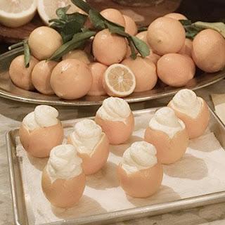 Meyer Lemon Mousse Cups.