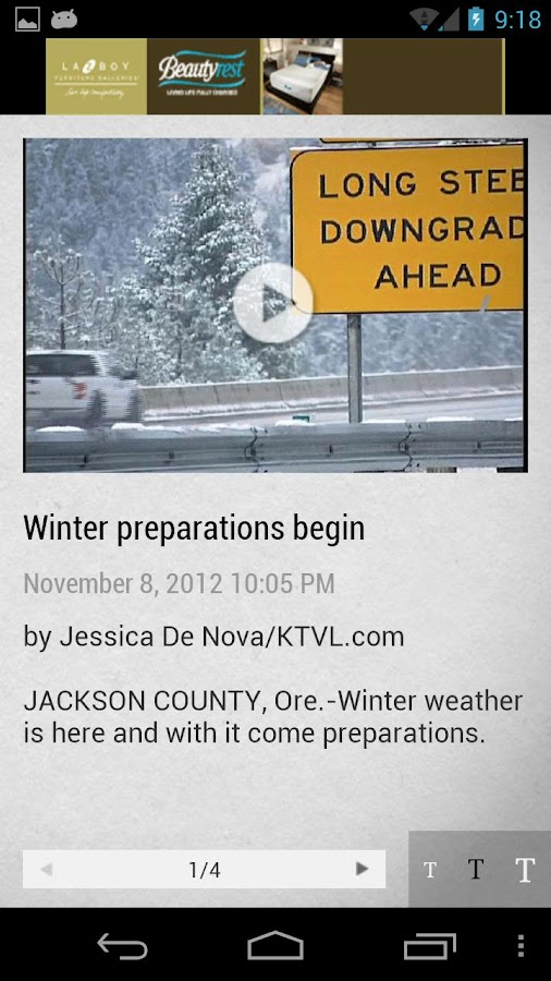 KTVL News 10 - screenshot