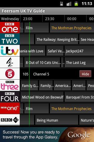 Feersum UK TV Guide
