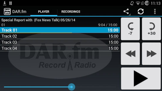 DAR.fm Radio Downloader- screenshot thumbnail
