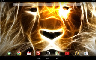 Screenshot of Lion Live Wallpaper