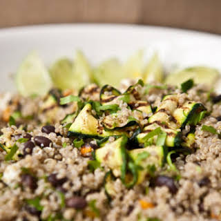 Fruit Salad with Quinoa.