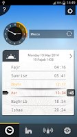 Screenshot of صلاتك Salatuk (Prayer time)