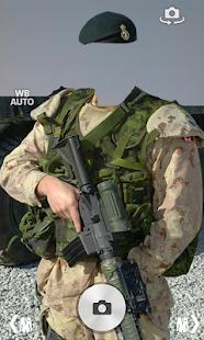 Modern soldier-US photomontage screenshot