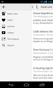 Instapaper - screenshot thumbnail