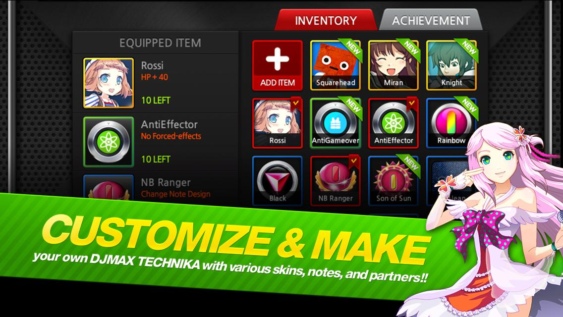 DJMAX TECHNIKA Q- screenshot