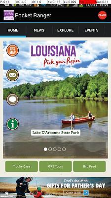 LA State Parks App - screenshot