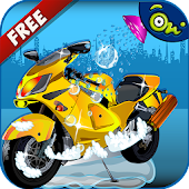 Dirt Bike Wash -Fun Kids Games