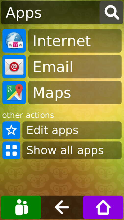 Koala Phone Launcher Free- screenshot