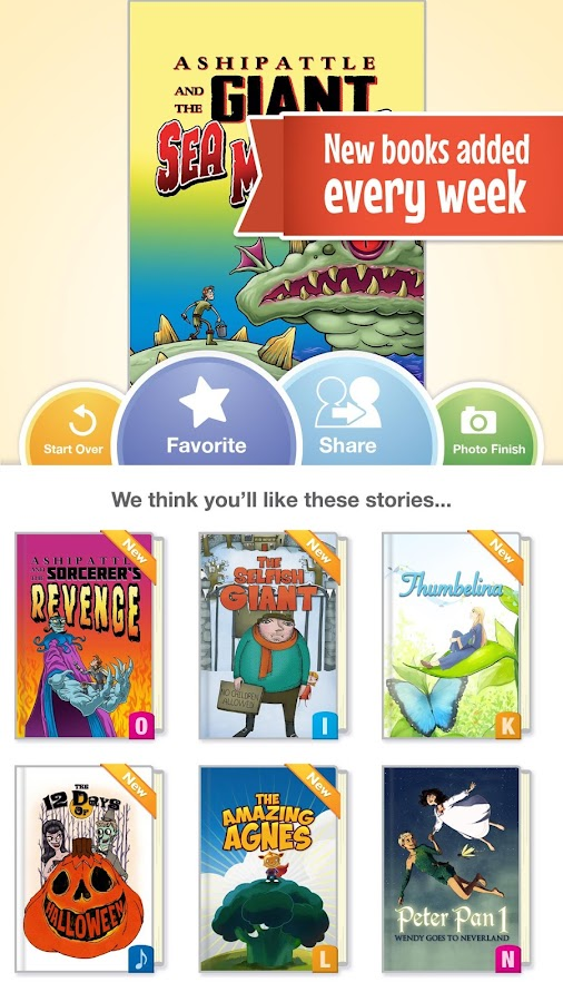 FarFaria Children's Storybooks - screenshot