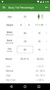 BMI Calculator - Weight Loss v2.3.4