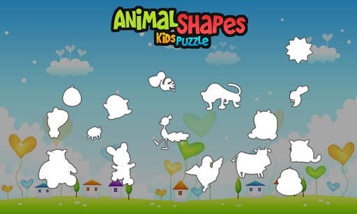 Animal Shapes - Kids Puzzle