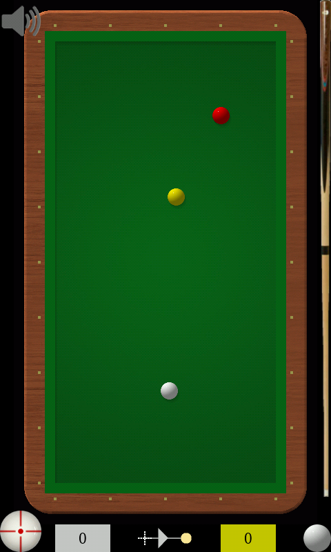 FingerBilliards - screenshot