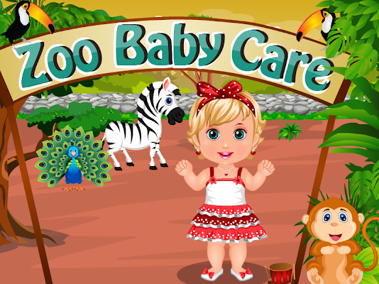 Zoo Baby Care Games - screenshot