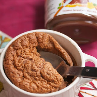 Nutella Soufflé.