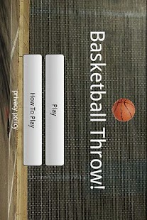 Basketball Throw!- screenshot thumbnail