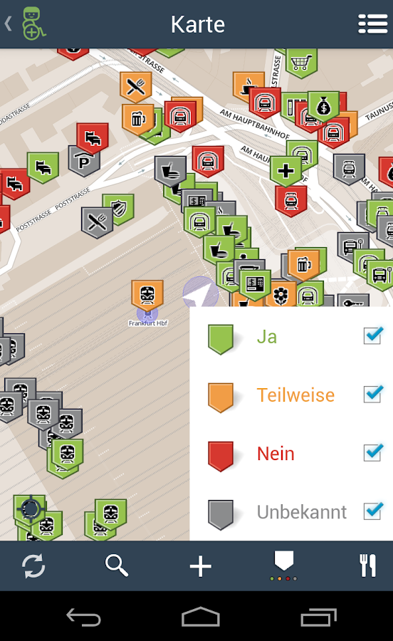 Wheelmap.org- screenshot