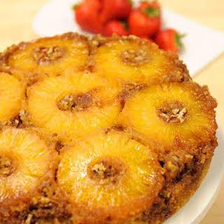 Grandma Bea's Pineapple Upside-Down Cake.