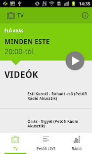 Petőfi LIVE - náhled