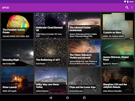 Screenshot of Astronomy Picture of the Day