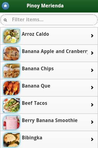 Pinoy food recipes on google play reviews stats pinoy food recipes android app screenshot forumfinder Choice Image