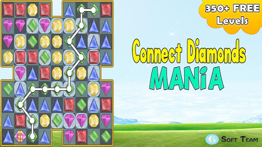 【免費街機App】Connect Diamonds Mania-APP點子