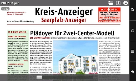 Kreisanzeiger- screenshot thumbnail
