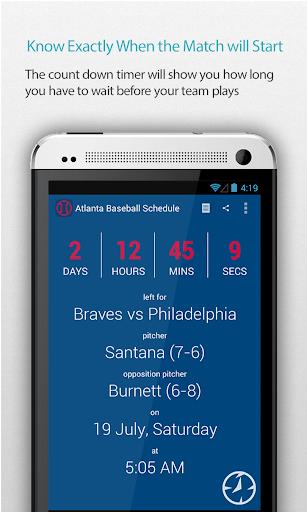 Atlanta Baseball Schedule