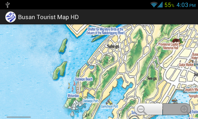 Busan Tourist Map HD - screenshot