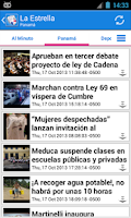 Screenshot of Panamá Noticias