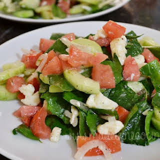 Chopped Salad with Lemon.