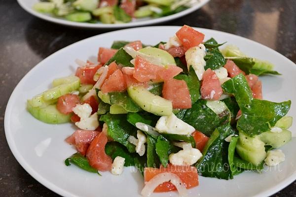 Chopped Salad with Lemon
