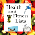 Health and Fitness Lists