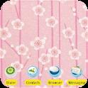Cherry Blossoms [SQTheme] ADW logo