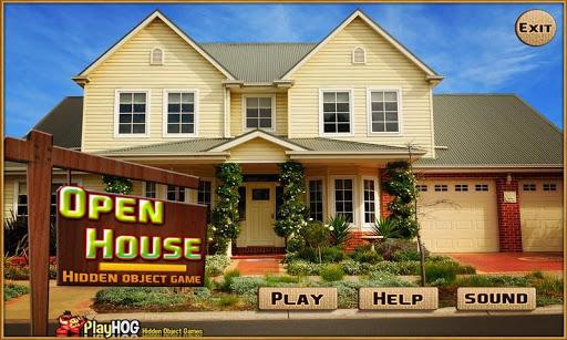 Open House Find Hidden Objects