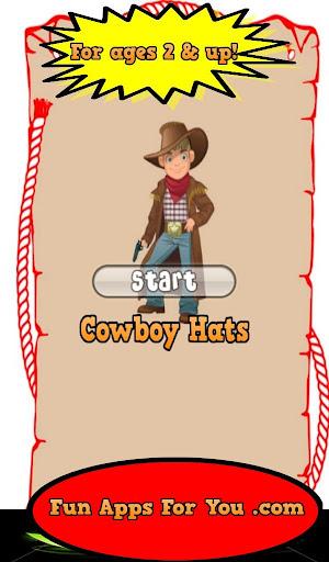 Cowboy Hat Matching Game