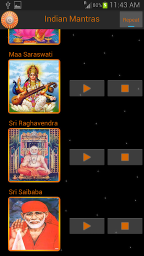 Mantras of Indian Gods 1.1 screenshots 5