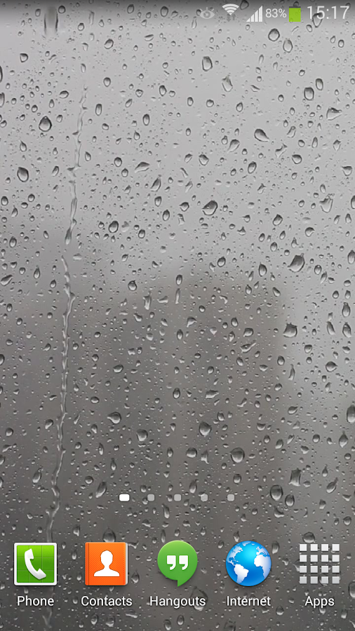 Raindrops Live Wallpaper HD- screenshot