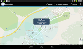 Screenshot of Find My Phone & Tablets