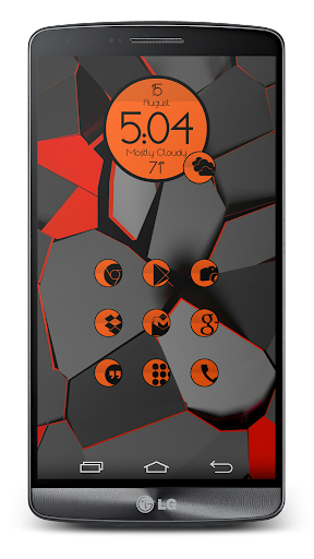 SC 164 Slipped Orange