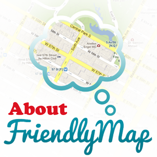 About FriendlyMap - Fun Ex! LOGO-APP點子