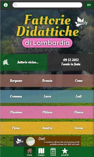 Fattorie didattiche Lombardia