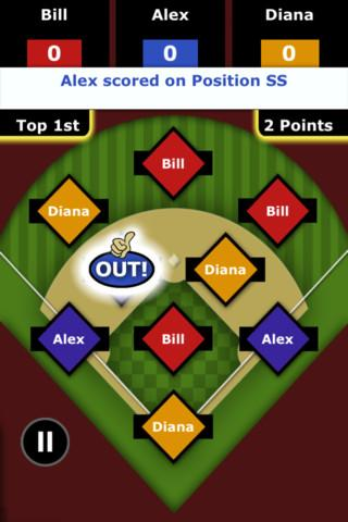 Baseball Outs - screenshot