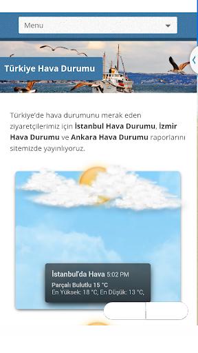Hava Durumu Türkiye ve Kıbrıs