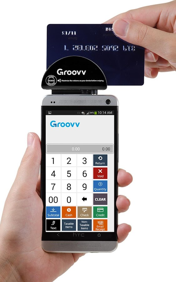 Groovv Lite - Point of Sale - screenshot