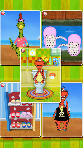 Dino Bath Dress Up FREE