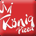 König Pizza App Eger logo
