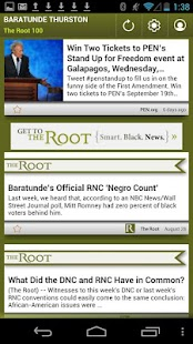 Baratunde Thurston: The Root - screenshot thumbnail
