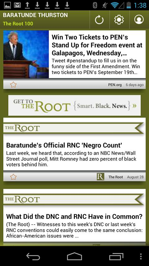 Baratunde Thurston: The Root - screenshot