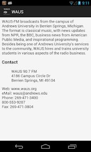 WAUS - screenshot thumbnail